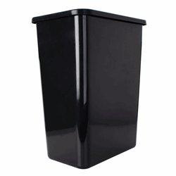 35 Quart Replacement Waste Container Black