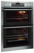 AEG DC4003000M Built In Double Oven Stainless Steel