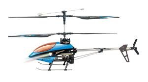 Radio Control Goshawk 4 Channel Helicopter 2.4GZ (with Gyro) Various Colours