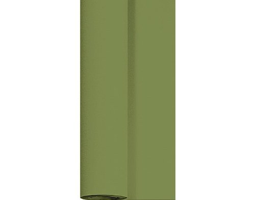 Duni Dunicel Tischdeckenrolle Herbal Green 1,25 m x 10 m, Tischdecke grün, Papiertischdecke grün, Tischdecke Hochzeit, Tischdeckenrolle, Tischdekoration
