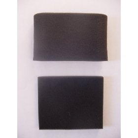 Generic Bissell Foam Filters Designed To Fit Style 7&8 Or Part # 3093 (1) Pre-Motor Filter 2031073 (1) Circular Upper Tank Filter 2031085 front-559257