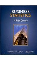 Business Statistics A First Course Plus NEW MyStatLab with by Sharpe