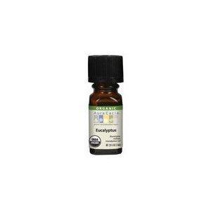 Aura Cacia Eucalyptus Radiata Essential Oil, 0.25 Ounce -- 2 per case. by Aura Cacia