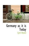 Germany as it is Today