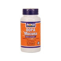 Dopa Mucuna 90 Vcaps By Now ( Multi-Pack)