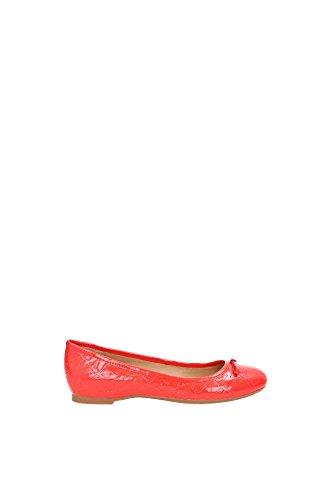 Ballerine Armani Jeans Donna Pelle Rosso A5527284L Rosso 40EU