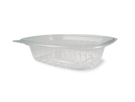 World Centric Compostable Corn Deli-Rectangle Container - 8-Ounce Clear, 900 Ct front-741883