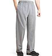 XXXL Cotton Rich Full Length Stretch Joggers