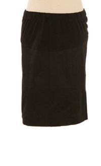 Lilo Maternity Short Pencil Skirt Black