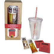 Starbucks Holiday Cold Cup Gift Set with Tazo Black Tea & VIA Flavored Coffees