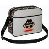 Paul Frank Messanger Shoulder Gym Bag Monkey Glasses Bag NEW