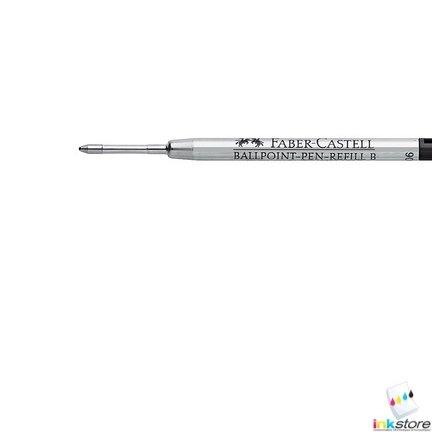 FABER-CASTELL mine de recharge pour stylo bille B, noir