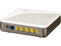 Sitecom WL-342 - Router (ADSL, Dynamic IP, Static IP, PPPoE & PPTP, WPA-AES, WPA-TKIP, WPA2, 172 g, 0.3 Gbit/s, 120 x 115 x 30 mm)