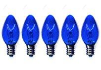Brilliant Brand Lighting Seasonal Decoration C7 Blue Twinkle Bulbs 5-Watt (25 Pack) front-968029
