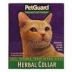 Herbal Collar For Cats Pet Guard .46 oz. Collar