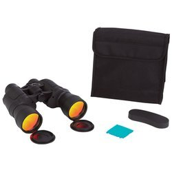 Magnacraftâ® 10X50 Binoculars With Ruby Red Coated Lenses For Glare Reduction , Binoculars