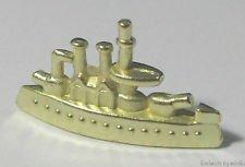 Monopoly Klassik Limited Edition: Goldene Schlachtschiff-Spielfigur