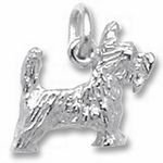 Rembrandt Charms Scottie Dog Charm - Sterling Silver