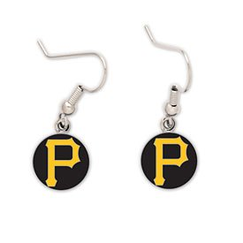 "Pittsburgh Pirates Official MLB .5"" Earrings by Wincraft"
