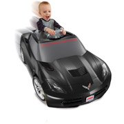 Fisher-Price Power Wheels Deluxe Corvette 12-Volt Battery-Powered Ride-On front-115645