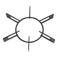 【クリックで詳細表示】リンナイ ビルトインコンロ部品 ごとく(五徳)大 (グレー) 010-388-000: ホーム&キッチン