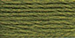 DMC Pearl Cotton Skeins Size 5 27.3 Yards Dark Moss Green 115 5-580; 12 Items/Order