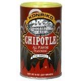 Konriko NO MSG Chipotle All Purpose Seasoning 5oz Canister (Pack of 2)