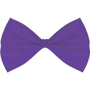 Purple Costume Bow Tie - 1
