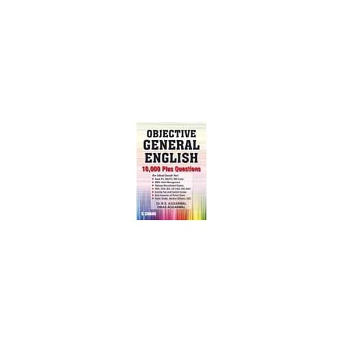 Objective General English (1000 Plus Questions)