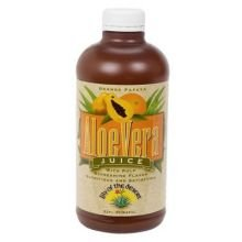 Lily Of The Desert Orange Papaya Aloe Vera Juice, 32 Ounce -- 6 Per Case.