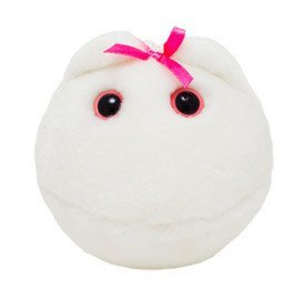 Giant Microbes S-PD-0245 Egg Cell Plush Toy