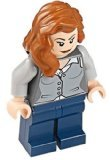 LEGO Lois Lane Minifigure from 2013 Superman