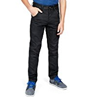 Slim Leg Coated Jeans