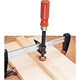 Bessey KT5-1CP single spindle edge clamp for use with clamp rails up to 1/2