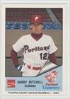 Bobby Mitchell Robert Mitchell (Baseball Card) 1984 Portland Beavers Cramer #202 by Portland Beavers Cramer