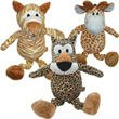 Great China Wild Bunch Plush Dog Chew Toy