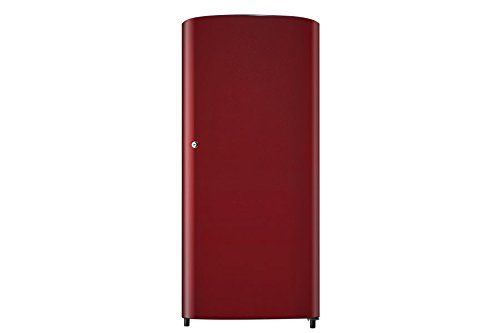 Samsung RR19J20A3RH Direct-cool Single-door Refrigerator (192 Ltrs, 3 Star Rating, Red)