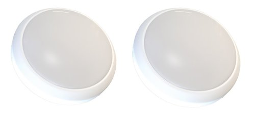 Stanley 32703 Round 3 LED Touch Light, 2-Pack