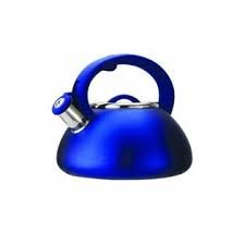 Ecolution Whistling 2.5-qt Tea Kettle - Blue - Stainless Steel - Whistling Kettle Collection - Kitchenware - Kitchen Kettle - Must have for your Home Sweet Home.