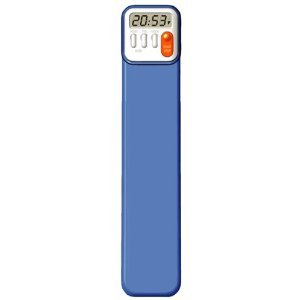 Mark-My-Time Digital Bookmark- Neon Blue
