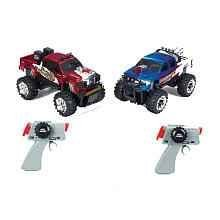 Battle Machines Laser Tag 2-pack 4x4 Trucks Chevy Silverado and Ford F-350