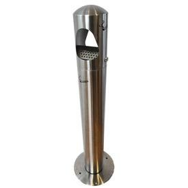 Cendrier-colonne-inox-a-sac