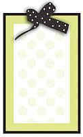 Stroller Fun Shower Invitation, Imprintable W/Ribbon - 8/Pkg. front-257480