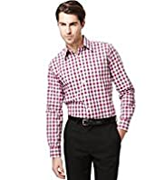 Collezione Pure Cotton Checked Shirt