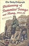 img - for DAILY TELEGRAPH - SOLDIERS SONG AND SLANG, THE: Sayings and Songs from the First World War book / textbook / text book