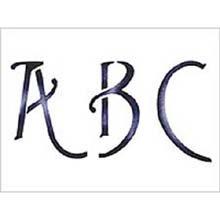 Alphabet Letters Wall Decor