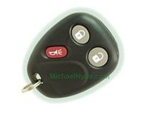 GM KEYLESS ENTRY REMOTE CLICKER FOB FCC: MYT3X6898B & GM P/N: 15008009 (MEMORY #2) PLUS PROGRAMMING REQUIREMENTS