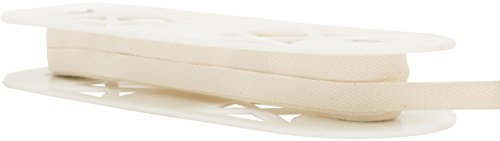 "Twill Tape 1/2"" Wide 18 Yards-Ivory"