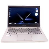 "ASUS 13.3"" UX31-RSL8 Zenbook Ultrabook Laptop / 2nd Gen Intel Essence I5-2467M 1.6 GHz Processor / 4GB DDR3 Remembrance / 128GB Solid State Drive / Windows 7 Domestic Premium 64-bit / Radiant Silver"