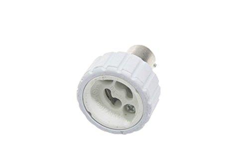 Shangge Ce&Rohs Certification 5 Pcs Ba15D To Gu10 Led Bulb Base Converter Halogen Cfl Light Lamp Adapter Socket Change Pbt